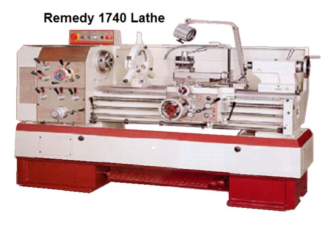 "Remedy 17"" Series manual lathes"